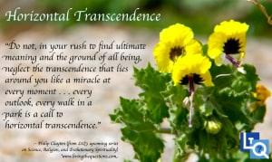 horizontal-transcendence